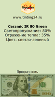 Ceramic IR 80 Green